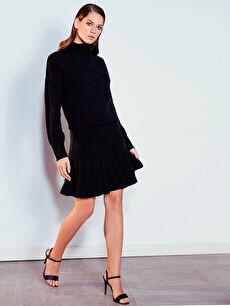 Fır Fır Detaylı Elbise