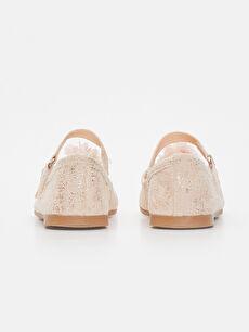 Kız Çocuk Çiçekli Babet Ayakkabı
