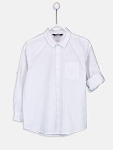 Erkek Çocuk Poplin Gömlek