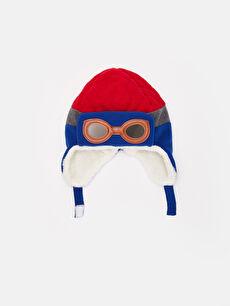 Kırmızı Erkek Çocuk Peluş Şapka 9W0775Z4 LC Waikiki