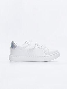 Beyaz Kız Çocuk Günlük Spor Ayakkabı 9W1413Z4 LC Waikiki