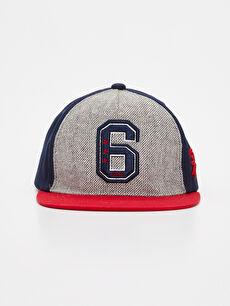 %100 Pamuk  Erkek Çocuk Pamuklu Şapka