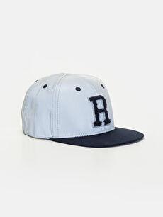 Gri Erkek Çocuk Hip Hop Şapka 9W1623Z4 LC Waikiki