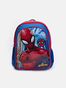Mavi Erkek Çocuk Spiderman Baskılı Sırt Çantası 9W2487Z4 LC Waikiki