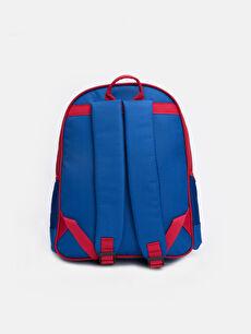%100 Polyester  Erkek Çocuk Spiderman Baskılı Sırt Çantası