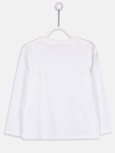 %100 Pamuk Süprem Standart Tişört Bisiklet Yaka Uzun Kol Düz Erkek Çocuk Pamuklu Basic Tişört