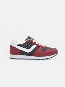 Bordo Erkek Çocuk Koşu Ayakkabısı 9W3189Z4 LC Waikiki