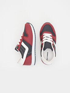 Tekstil malzemeleri Diğer malzeme (pvc) Tekstil malzemeleri Sneaker Işıksız Polyester Astar Erkek Çocuk Koşu Ayakkabısı