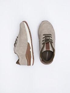 Diğer malzeme (pvc) Tekstil malzemeleri Sneaker Işıksız Polyester Astar Erkek Çocuk Bağcıklı Günlük Spor Ayakkabı