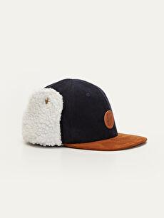Erkek Çocuk Kulaklı Şapka