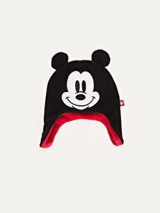 Siyah Erkek Çocuk Mickey Mouse Şapka 9W3561Z4 LC Waikiki