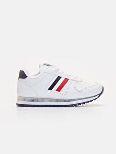 Beyaz Erkek Çocuk Işıklı Spor Ayakkabı 9W3956Z4 LC Waikiki