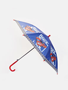 Erkek Çocuk Araba Baskılı Şemsiye
