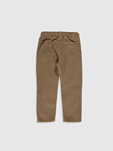 %100 Pamuk Normal Normal Bel Erkek Çocuk Kadife Pantolon