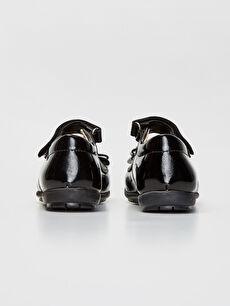 Kız Çocuk Cırt Cırtlı Babet Ayakkabı