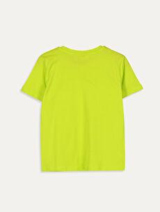 %100 Pamuk Kısa Kol Süprem Standart Baskılı Tişört Bisiklet Yaka Erkek Çocuk Baskılı Pamuklu Tişört