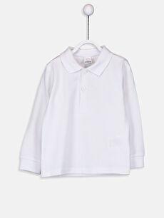 Erkek Bebek Pamuklu Polo Yaka Tişört