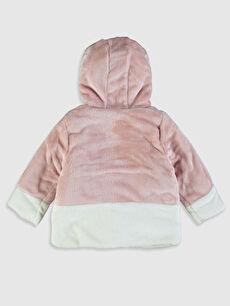 %100 Polyester %100 Pamuk Mont Kız Bebek Pelüş Mont