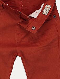 Erkek Bebek Erkek Bebek Slim Fıt Gabardin Pantolon