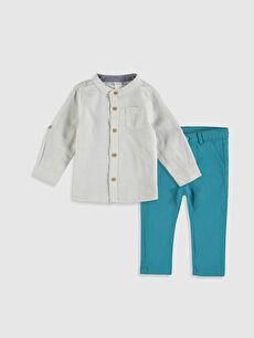 Erkek Bebek Gömlek ve Pantolon