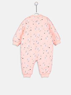 %48 Pamuk %52 Polyester %100 Pamuk Standart Tulum Kız Bebek Desenli Uyku Tulumu
