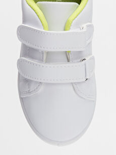 LC Waikiki Beyaz Erkek Bebek Dinazor Baskılı Ayakkabı