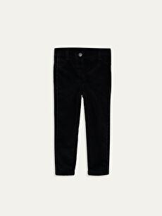 Kız Bebek Kadife Pantolon