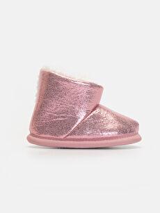 Pembe Kız Bebek Parlak Ev Ayakkabısı 9W6358Z1 LC Waikiki