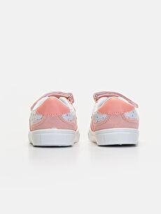 Kız Bebek Cırt Cırtlı Spor Ayakkabı