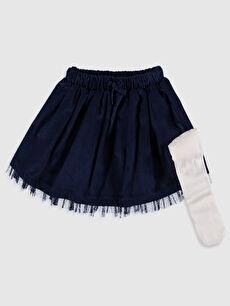 Kız Bebek Etek ve Külotlu Çorap
