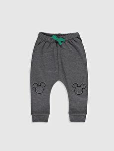 Erkek Bebek Disney Baskılı Sweatshirt ve Pantolon