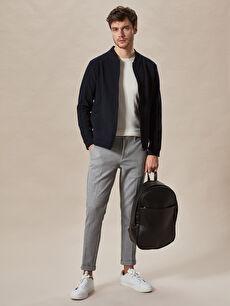 Gri Slim Fit Crop Pantolon 0S1925Z8 LC Waikiki