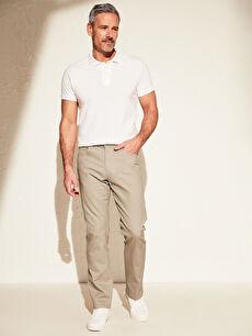 Regular Fit Gabardin Pantolon
