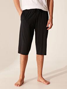 Erkek Standart Kalıp Bermuda Pijama Altı