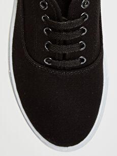 LC Waikiki Siyah Erkek Plimsole Ayakkabı