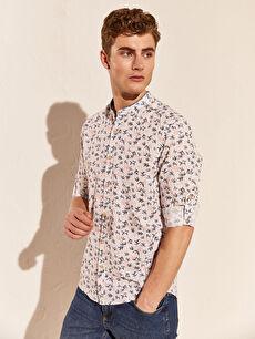 Beyaz Aile Koleksiyonu Ekstra Slim Fit Gömlek 0S8735Z8 LC Waikiki