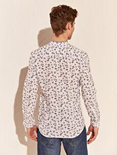 LC Waikiki Beyaz Aile Koleksiyonu Ekstra Slim Fit Gömlek