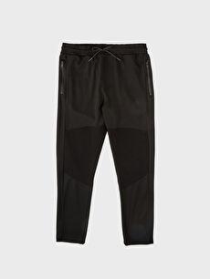 LC Waikiki Siyah Slim Fit Poliviskon Pantolon