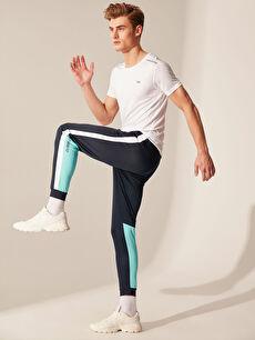 %100 Polyester  Standart Kalıp Aktif Spor Eşofman Altı