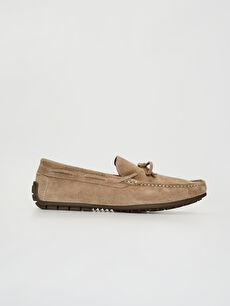 Erkek Süet Hakiki Deri Makosen Ayakkabı