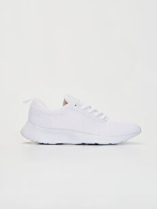 Beyaz Kadın Bağcıklı Günlük Spor Ayakkabı 0S3624Z8 LC Waikiki