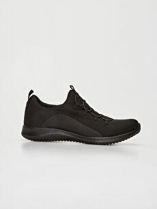 Siyah Kadın Slip On Aktif Spor Ayakkabı 0S5183Z8 LC Waikiki