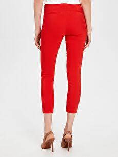 %54 Pamuk %42 Polyester %4 Elastan Normal Bel Esnek Skinny Pantolon