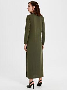Kadın Şal Yaka Uzun Elbise