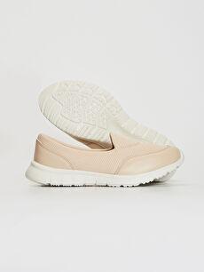%90 Polyester %10 Poliüretan %100 Polyester  Kadın Slip On Aktif Spor Ayakkabı