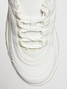 LC Waikiki Beyaz Kadın Kalın Taban Günlük Ayakkabı