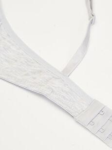 %62 Pamuk %34 Polyester %4 Elastan Standart İç Giyim Üst T-shirt Sütyen 2'li