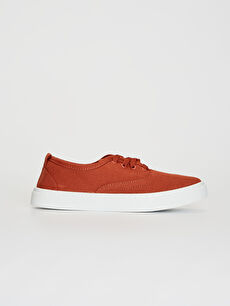 Kırmızı Kadın Bağcıklı Sneaker 0SM346Z8 LC Waikiki