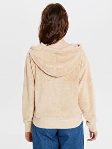 Kadın Kapüşonlu Polar Sweatshirt