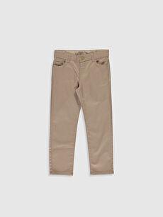 Erkek Çocuk Slim Gabardin Pantolon